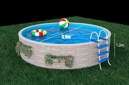 Rozměry bazénu